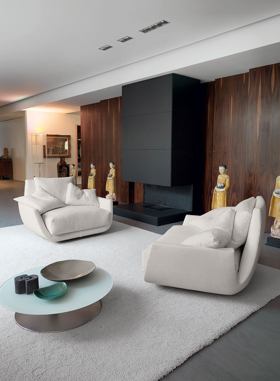 6 Posh Contemporary Armchairs Amp Sofas To Transform Your