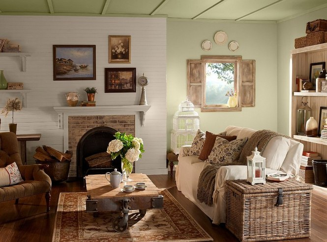 Pleasant Rustic Living Room Ideas For Your Minimalist Interior Home Design With