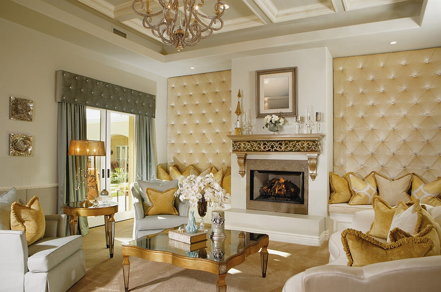 11 Trendy Rooms With Tufted Wall Panels