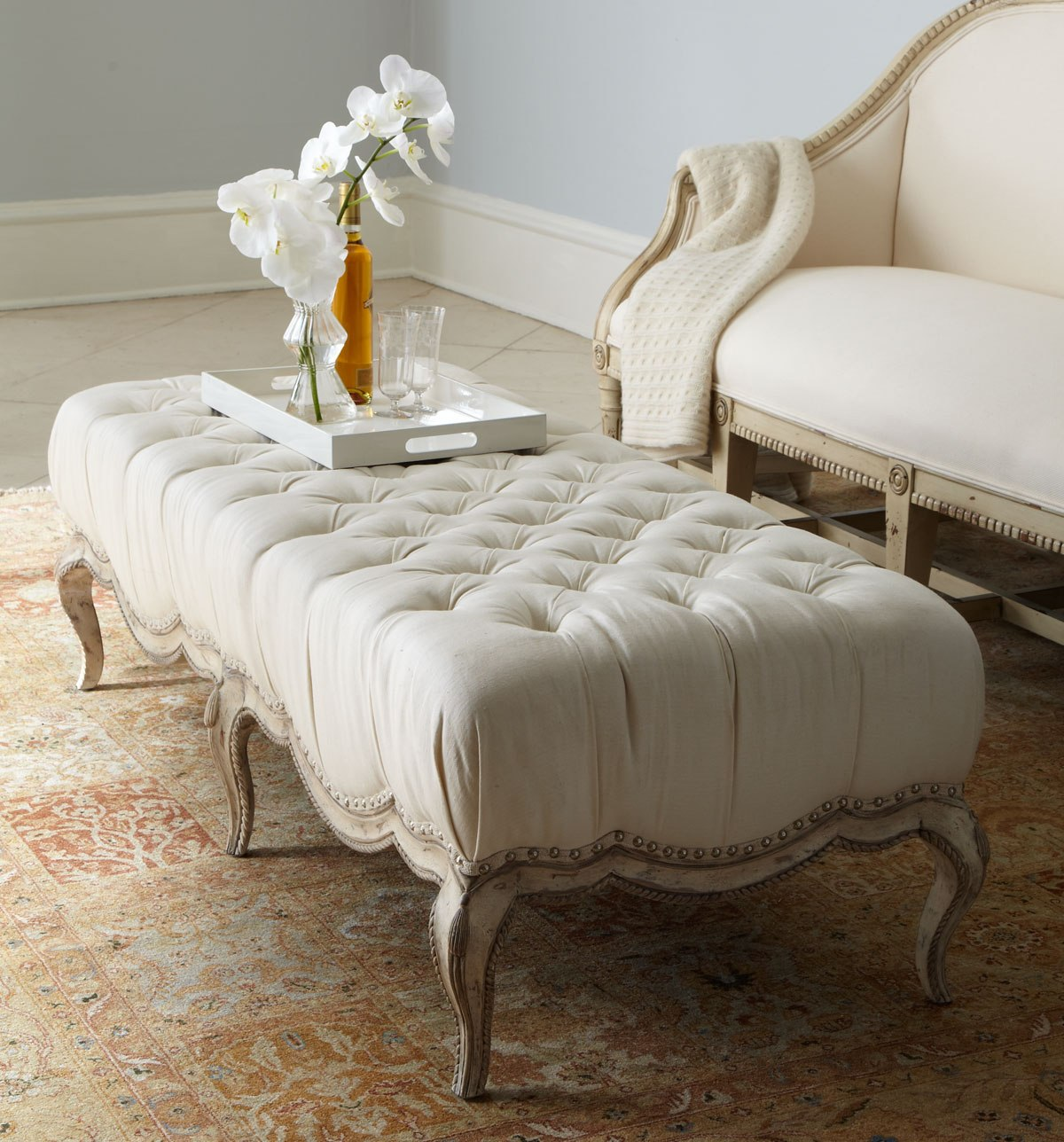 8 plush tufted ottomans to add comfort