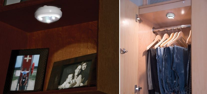 Led Closet Light Battery Operated