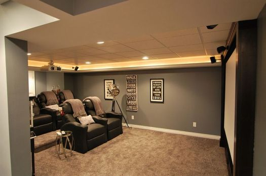 Elegant Bat Home Theater Keeps Things Simple Design Plan 2 Finish