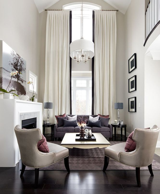 Latest Decorating Ideas For Living Rooms With High Ceilings