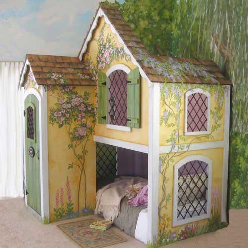 Camas de fantasía para niños - Casa del bosque