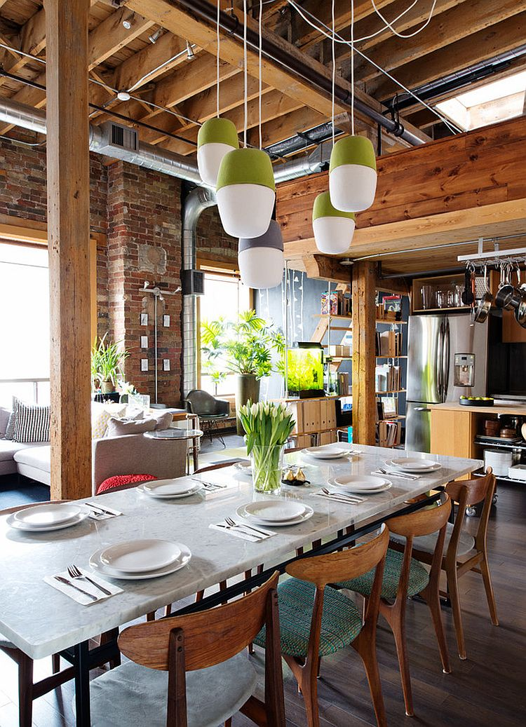 French Industrial Pendant Lighting