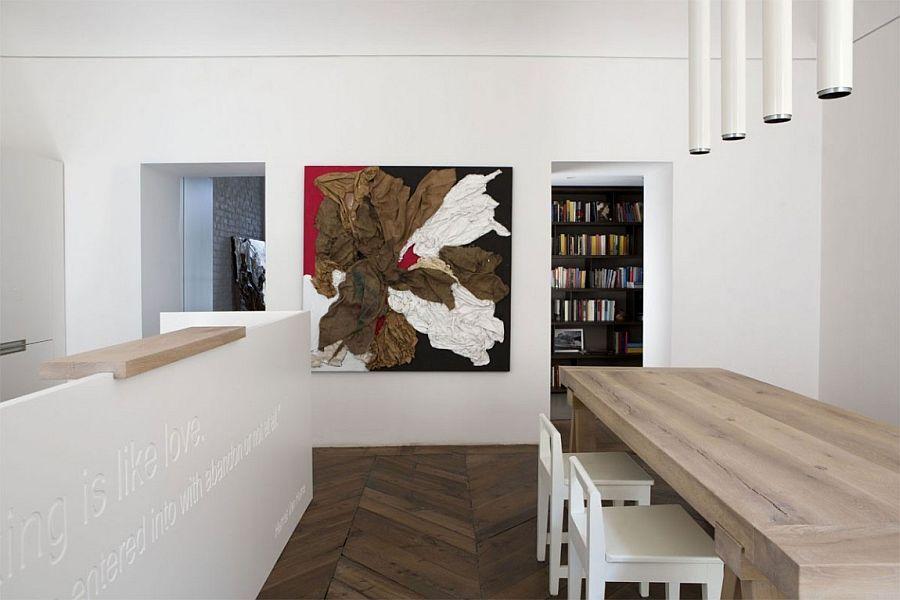 Minimal Italian Home In Black And White By Fabio Fantolino