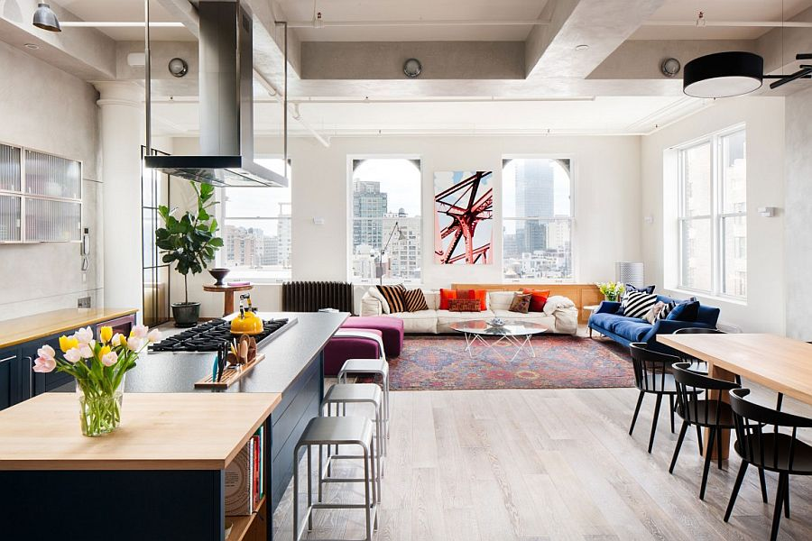 Colorful Living Room New York