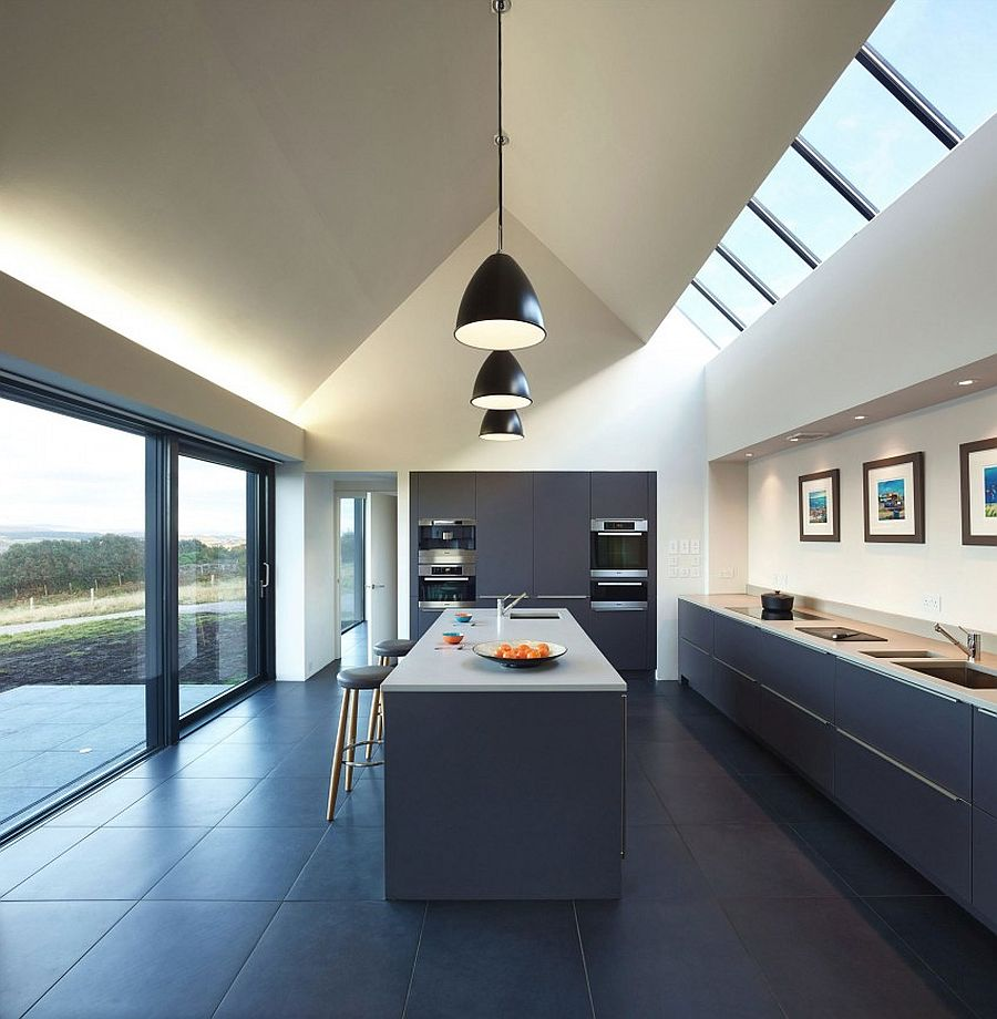 Contemporary Home In Isle Of Skye By Dualchas Architects