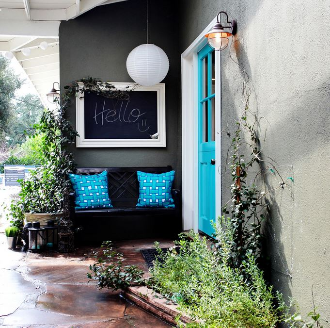 The Art Of Decorating A Front Entrance