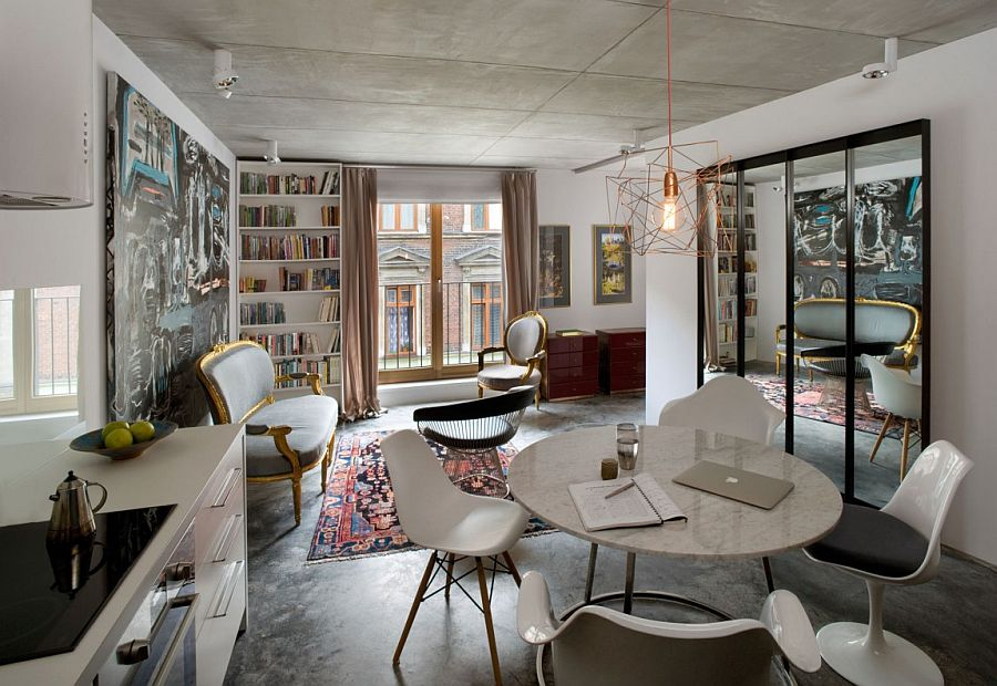Small Ingenious Apartment In Poland Draped In Eclectic