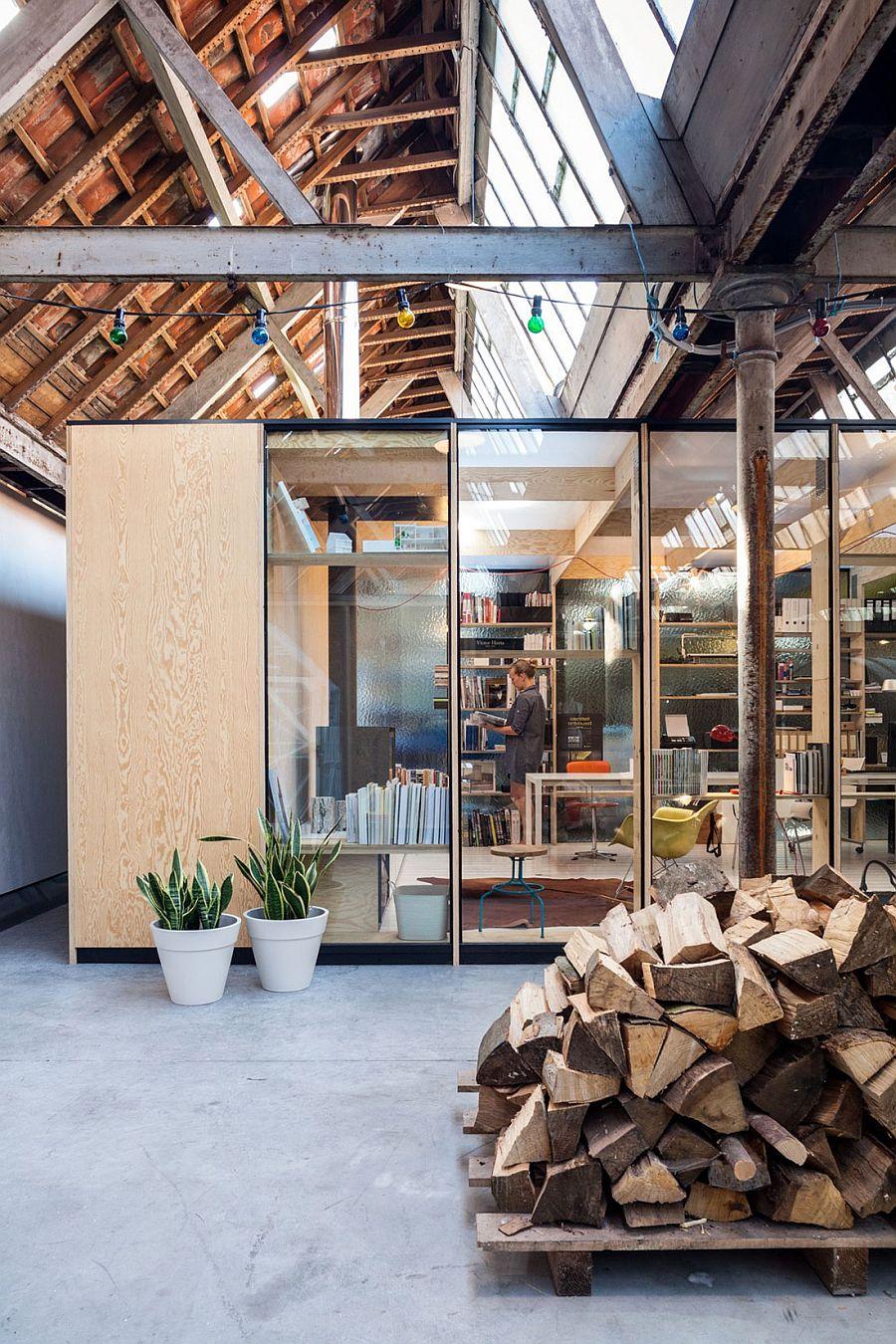 Modern Kitchen Open Shelves