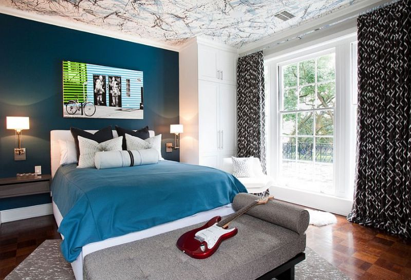 Painted Ceiling Designs For Bedroom Integralbookcom - Kids bedroom ceilings