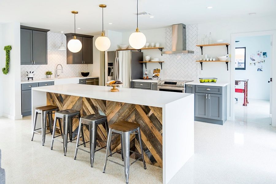 100 Awesome Industrial Kitchen Ideas     Give your industrial kitchen a softer  modern appeal  Design   Restore818