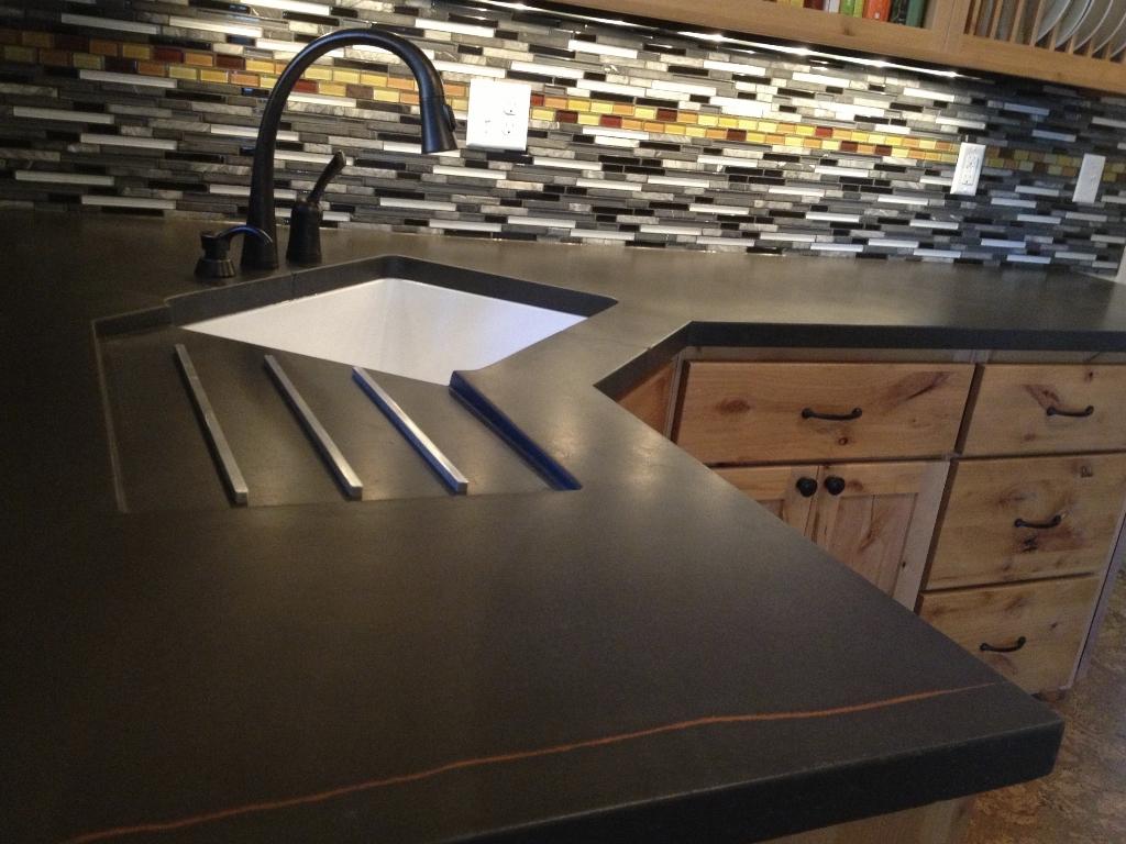 Concrete Countertops That Prove This Material Suits Any Decor. Concrete  Countertops Jungle Design Colorado Springs Co