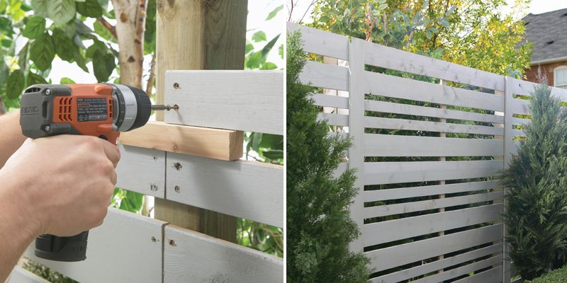 modern privacy fence ideas for your