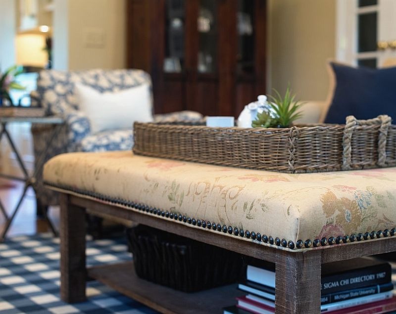 50 tufted and upholstered coffee tables