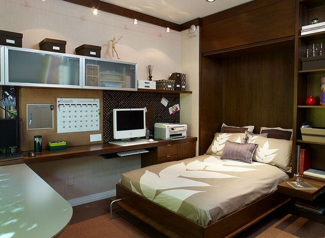 Guest Bedroom Home Office Decorating Ideas Room Design Small
