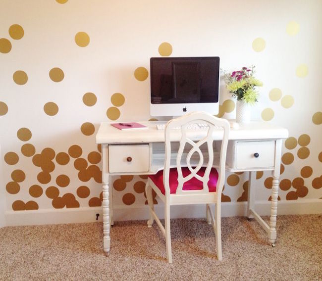 Gold Star Wall Sticker Removable Home Decoration Art Decals Free Shipping 15cm
