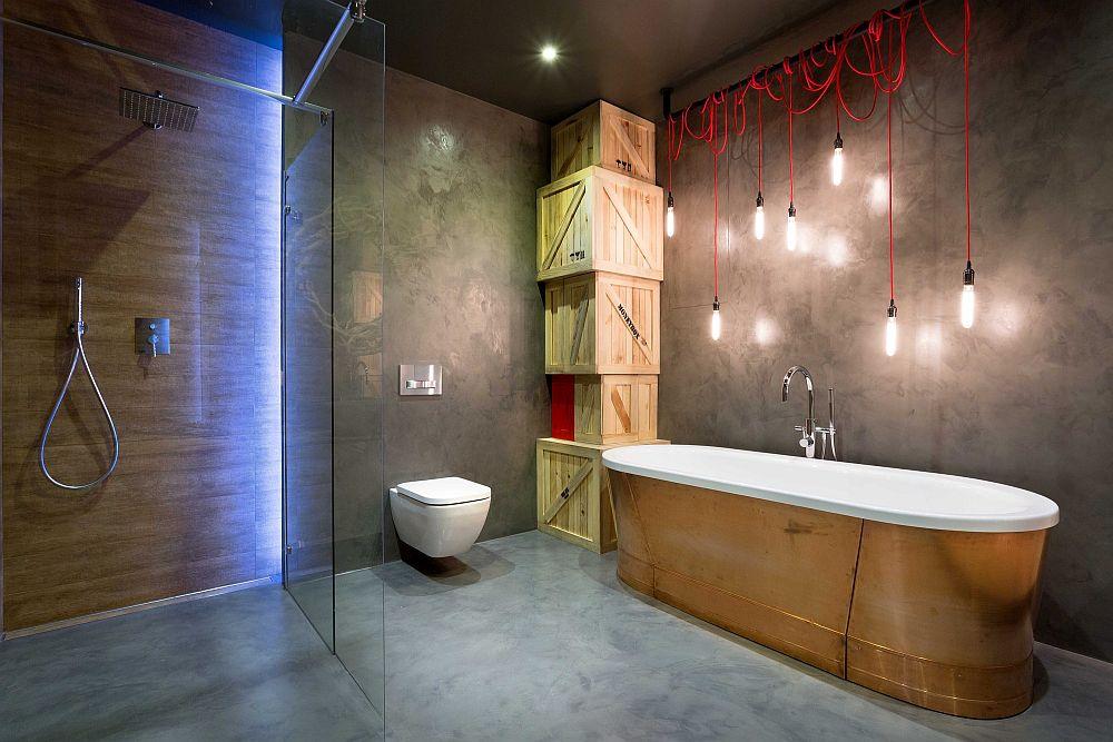 High End Bachelor Pad Design Stunning Loft In Kiev By