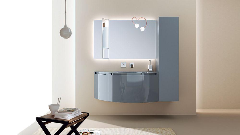 Tasteful Trio Of Posh Contemporary Bathrooms From Scavolini
