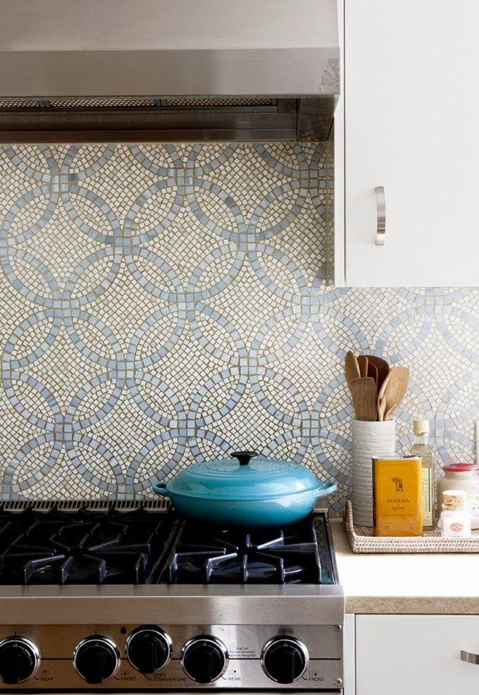 18 gleaming mosaic kitchen backsplash
