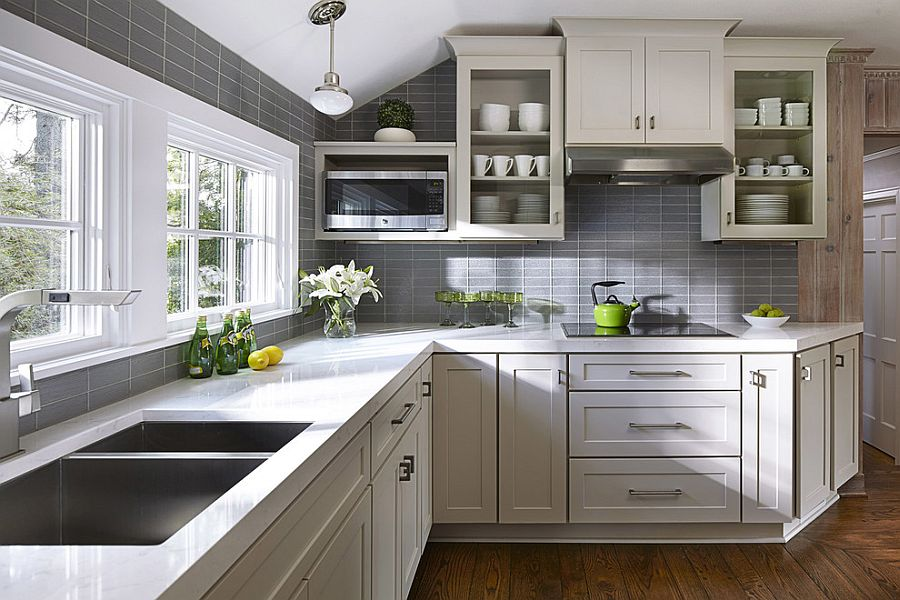 Kitchen Ideas Gray Cabinets Shreenad Home
