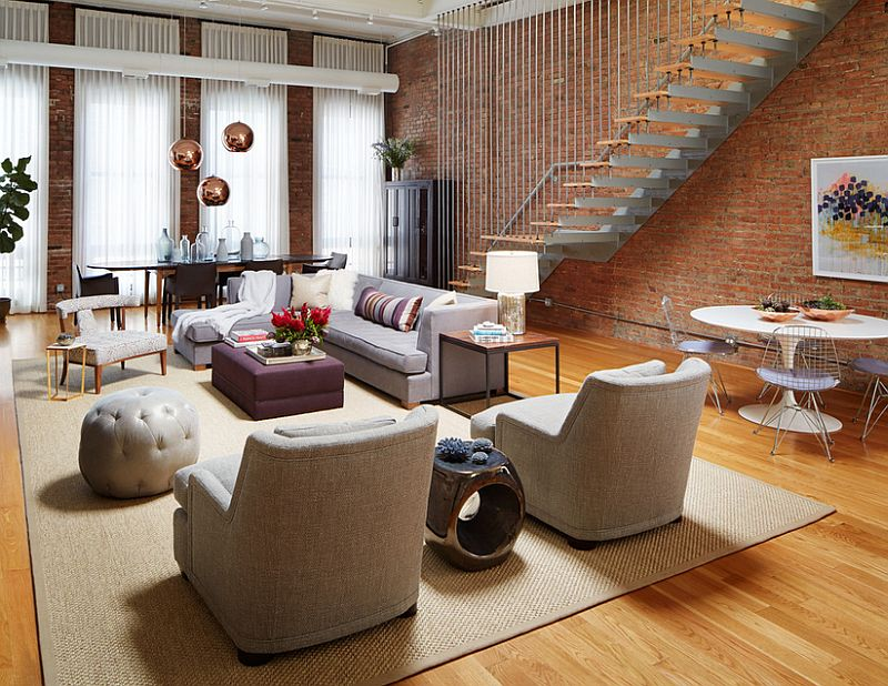 100 Brick Wall Living Rooms That Inspire Your Design Creativity Part 46