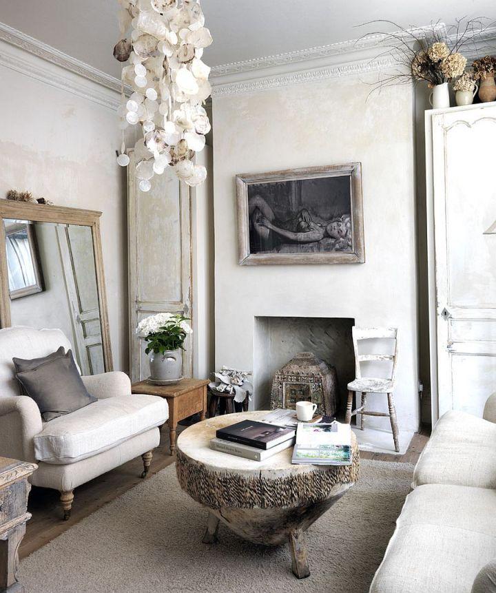 37 Enchanted Shabby Chic Living Room Designs: Decorate Living Room Shabby Chic Style