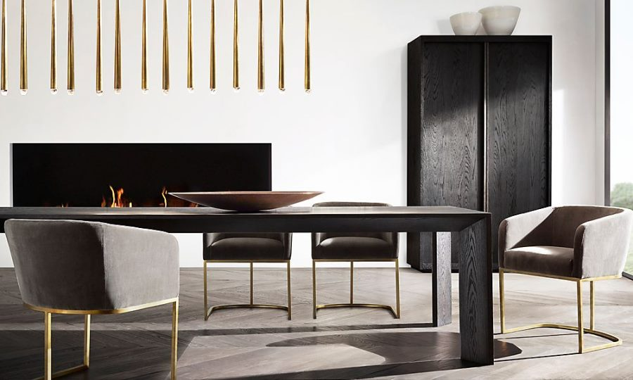 New Brass Furniture And Decor From Rh Modern