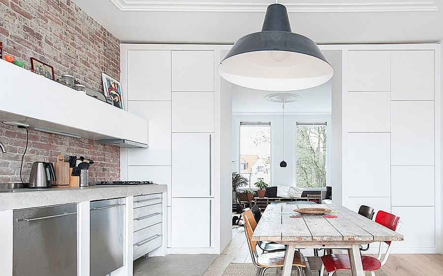 Contemporary Dutch Apartment Renovation By Global Architects