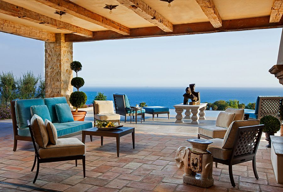 Luxurious Tuscan Style Malibu Villa By Paul Brant Williger