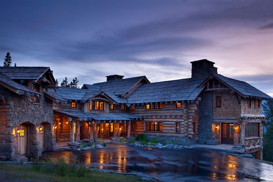 Amazing Views Meet Timeless Charm At Rustic Mountain Cabin