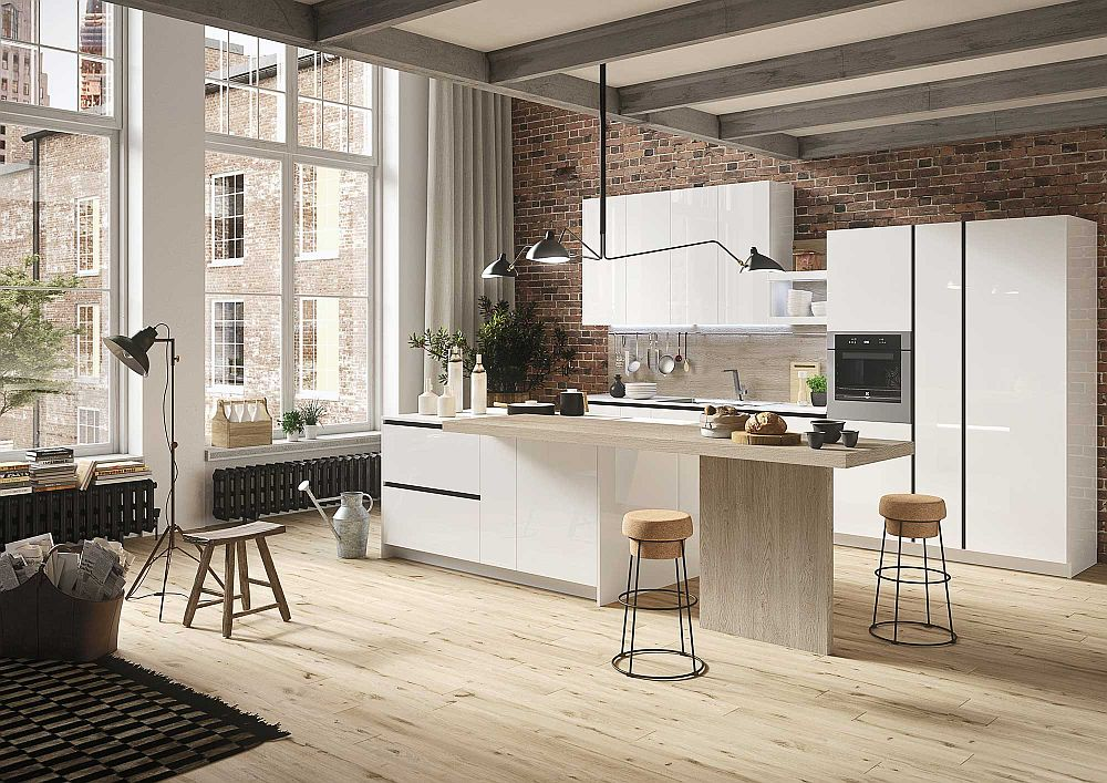 First Kitchen Modular Freedom Wrapped In Casual Minimalism