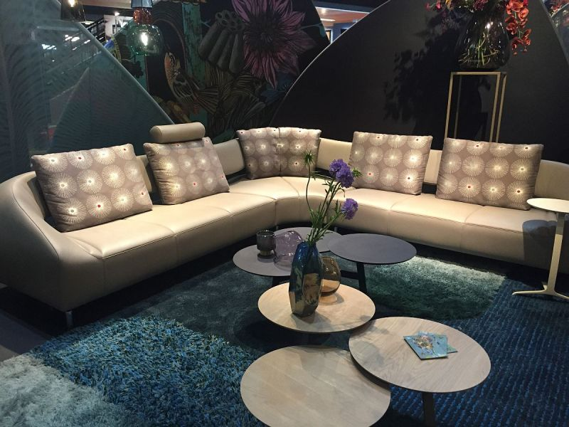 100 Awesome Living Room Ideas from Salone del Mobile 2016 View in gallery Affordable and unique new living room decor from Leolux    Milan 2016