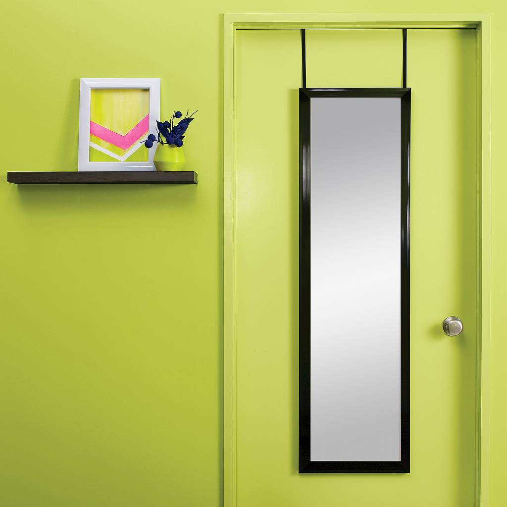 Bring Home Functional Style With An Over The Door Mirror