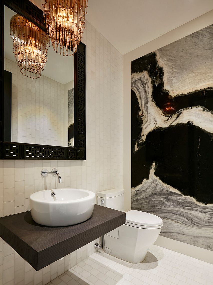 White Brown Color Scheme Rooms