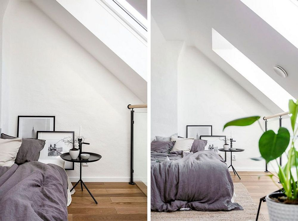 World Of White And Gray Scandinavian Style Apartment In