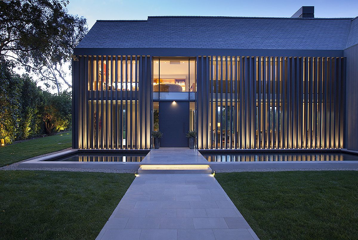 Stunning Contemporary Makeover For 1980s Manor House