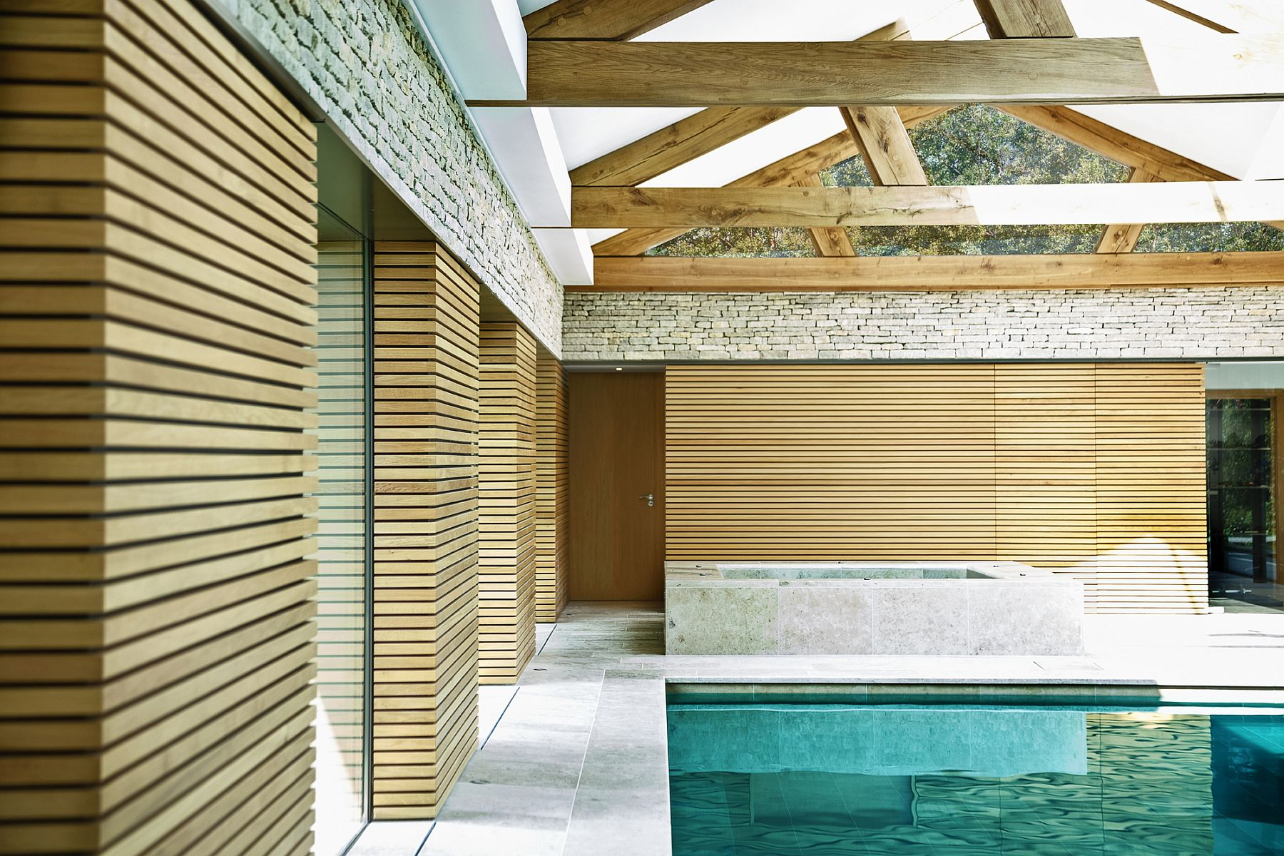 From Fun Parties To Rejuvenating Solitude Awesome Pool House Does It All