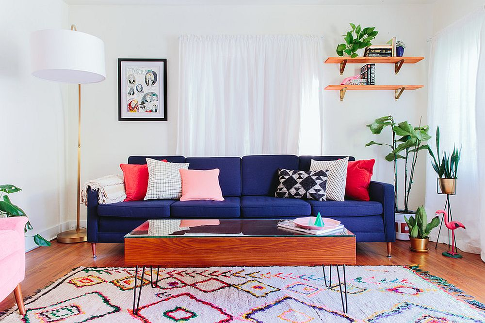 Vibrant Trend 25 Colorful Sofas To Rejuvenate Your Living Room. Living Room  Design Ideas Blue ... Part 46