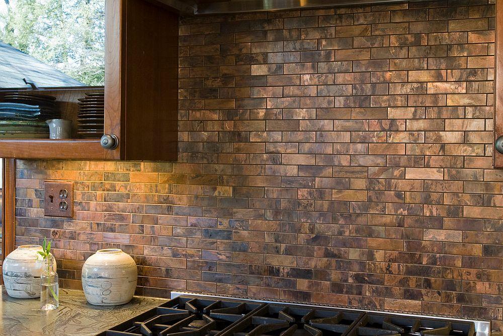 20 copper backsplash ideas that add