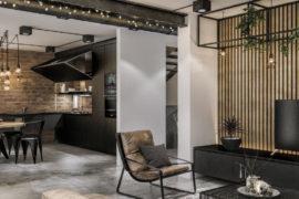 Modern Industrial Loft In Singapore Gets Revitalizing Facelift
