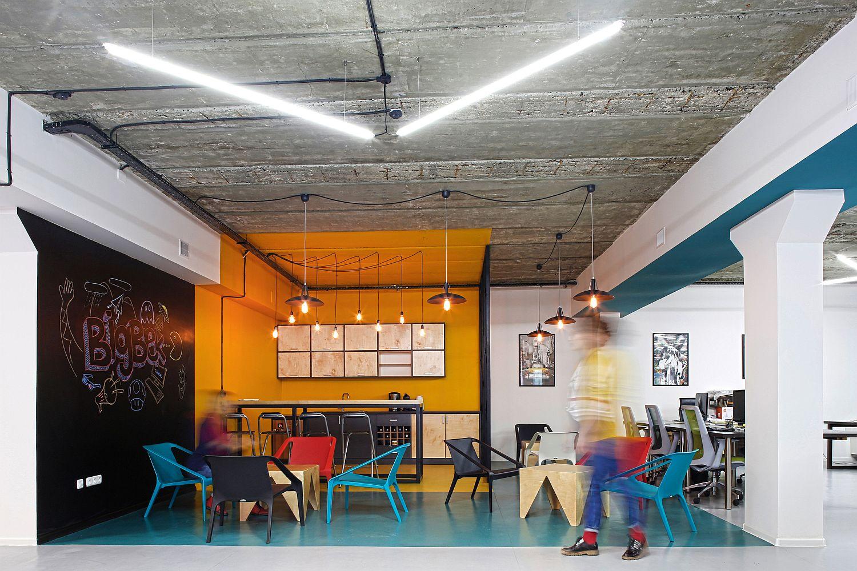 modern industrial office