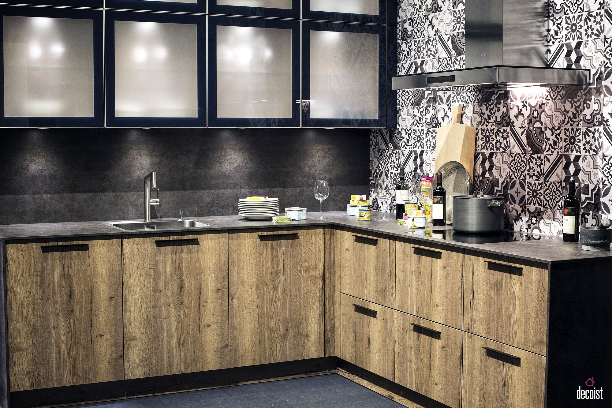 Wall Kitchen L Shaped Units