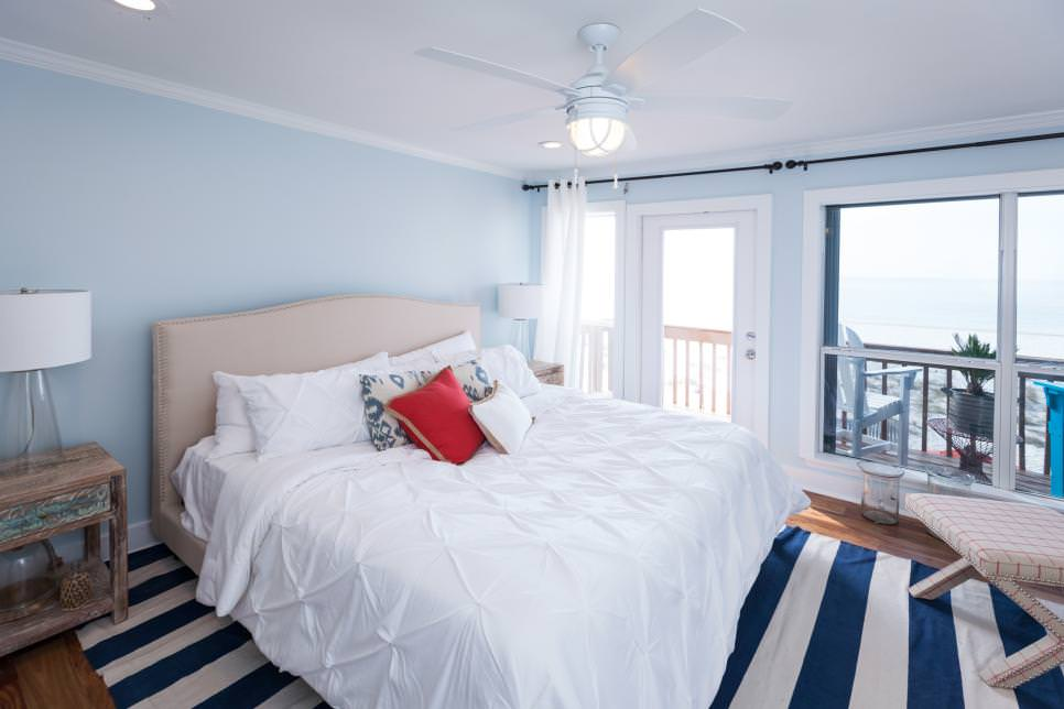 title | Light Blue And White Bedroom