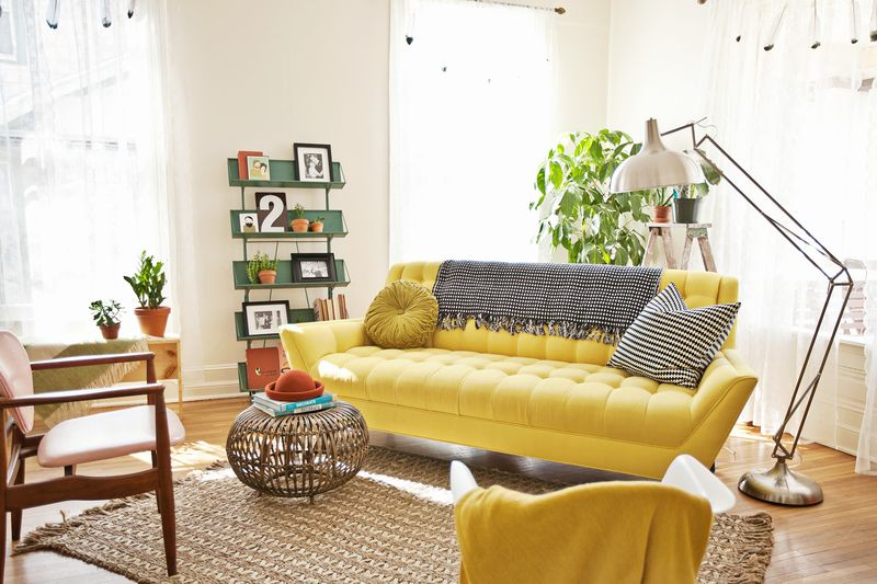 Yellow Sofa A Sunshine Piece For Your Living Room