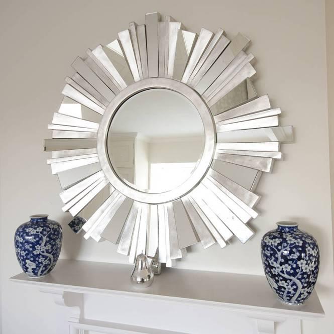 Staircase Wall Decor Ideas Modern With Mirror