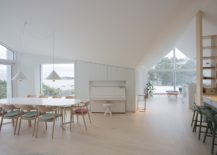 Neutral interior of Stormbilan in Finland 217x155 Contemporary Seaside Villa Combines Coastal Style with Classic Form
