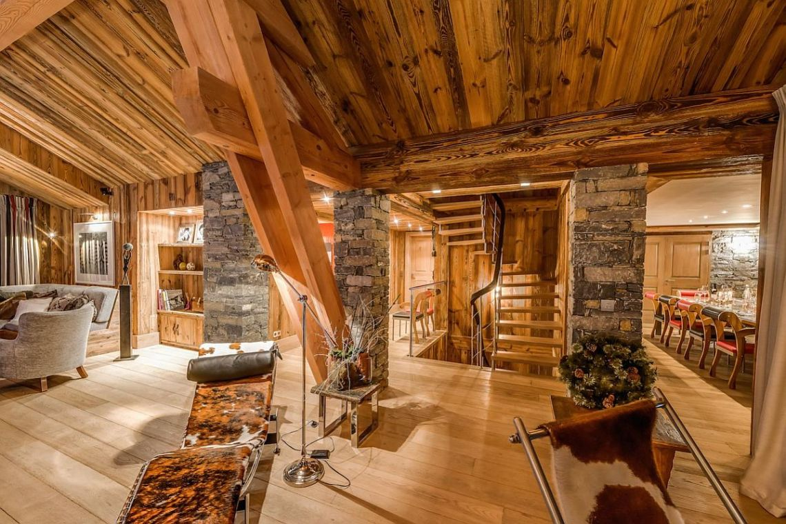 Ski Chalet View In Gallery