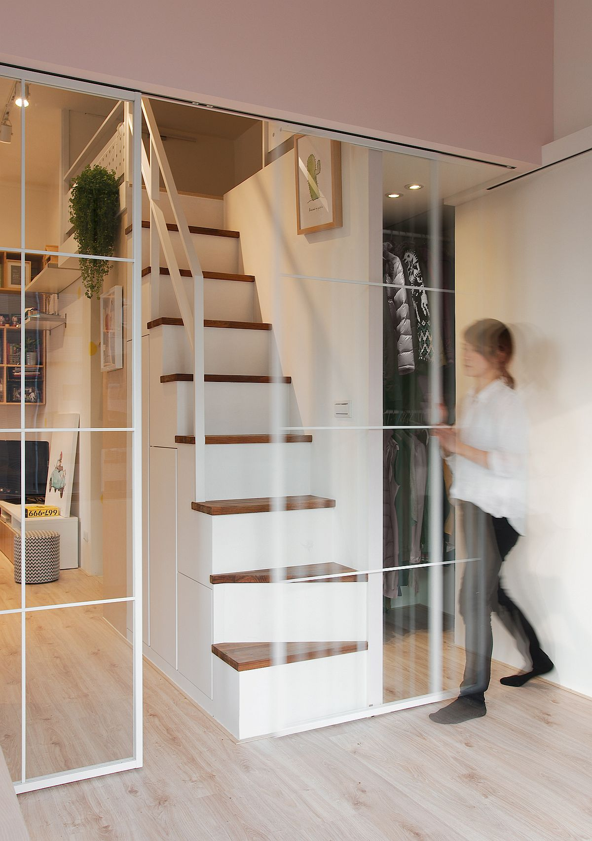 Space Savvy Urban Apartment Designed For A Couple And